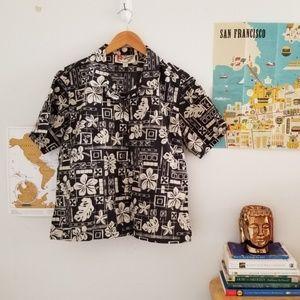 hilo hattie • aloha shirt